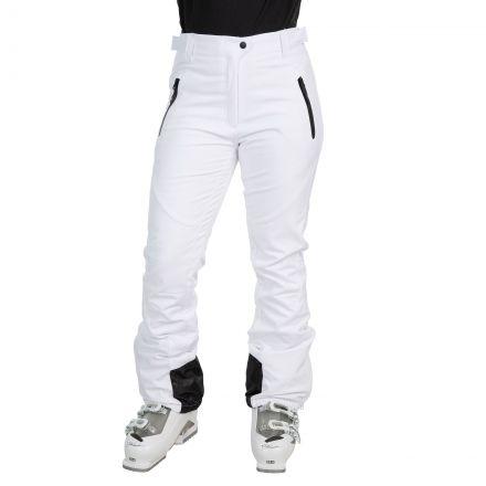 Amaura Women's Softshell Ski Trousers in White