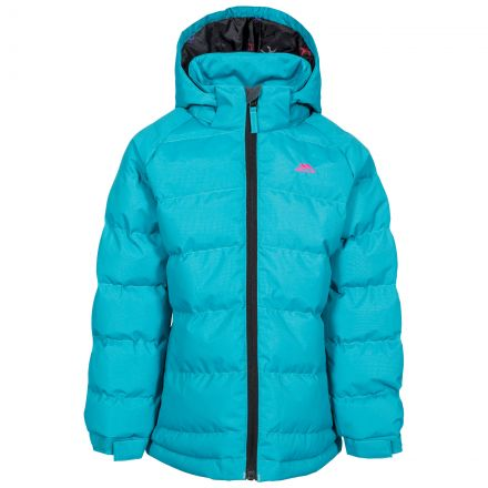 Amira Kids' Padded Casual Jacket in Blue