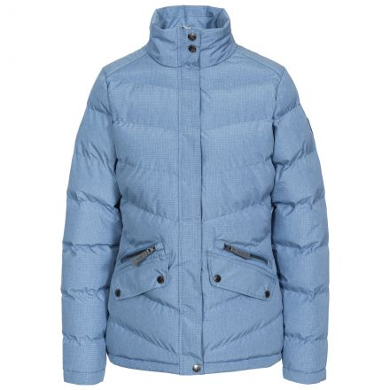 Angelina Women's Padded Jacket in Light Blue
