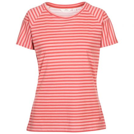 Ani Women's Printed T-Shirt Rhubarb Printed Stripe