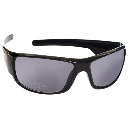 Trespass Virus Adults Sunglasses in Black Anti
