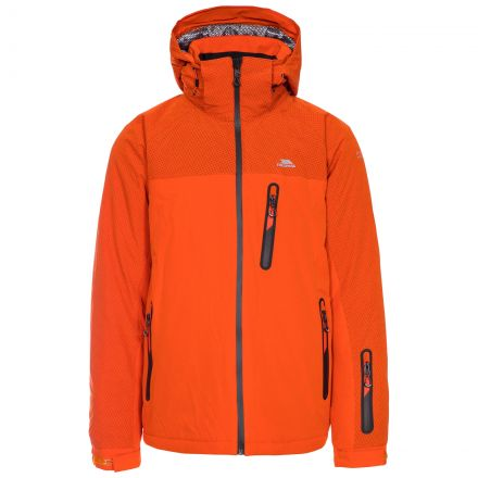 Appin Men's Waterproof Ski Jacket in Orange