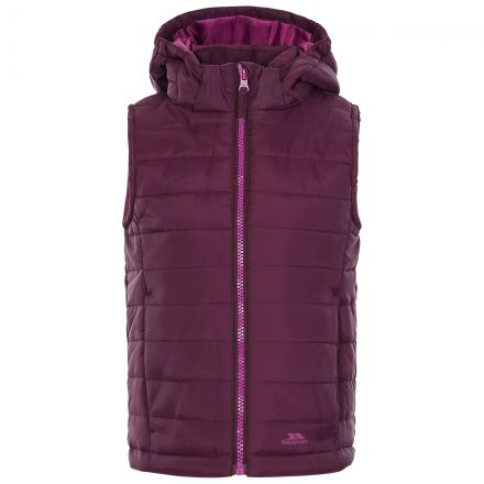 Aretha Kids' Casual Gilet in Purple