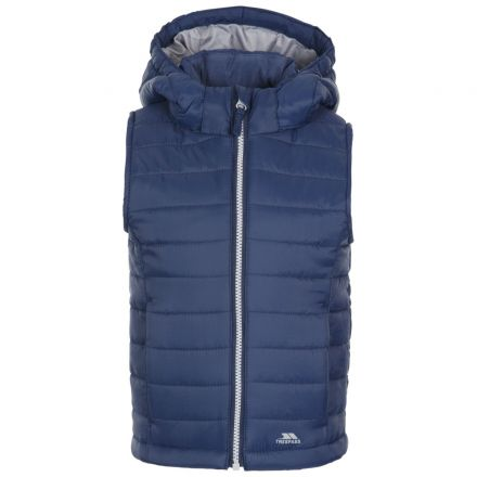 Aretho Kids' Lightly Padded Gilet in Navy