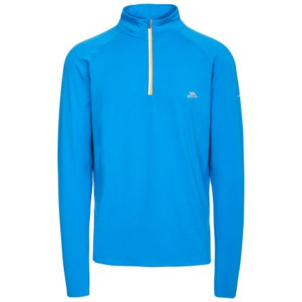 Arowson Men's Quick Dry Active Top in Blue