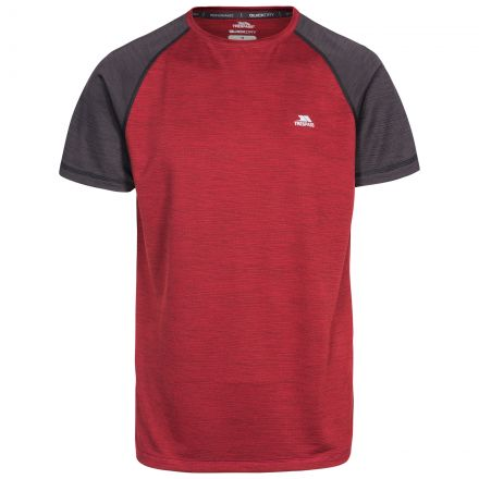 Bagbruff Men's Active T-Shirt in Red