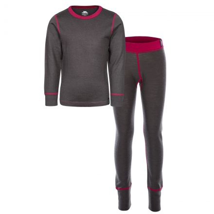 Bamba Kids' Thermals in Grey