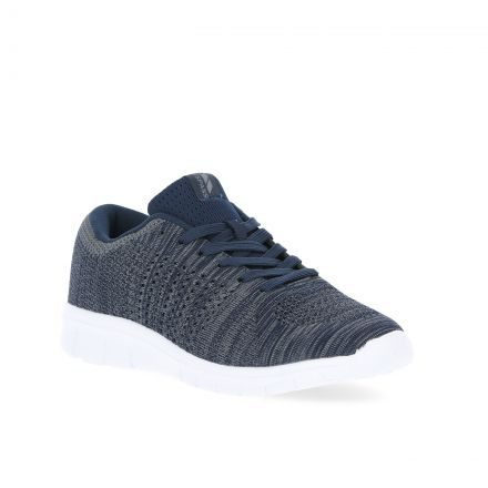 Barrow Men's Lightweight Memory Foam Trainers in Navy