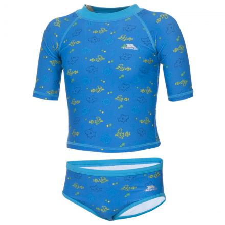 BEBE Babies Swim Set in Blue