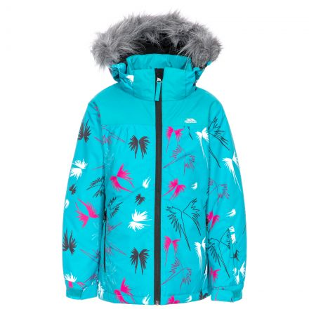 Beebear Kids' Printed Ski Jacket in Blue