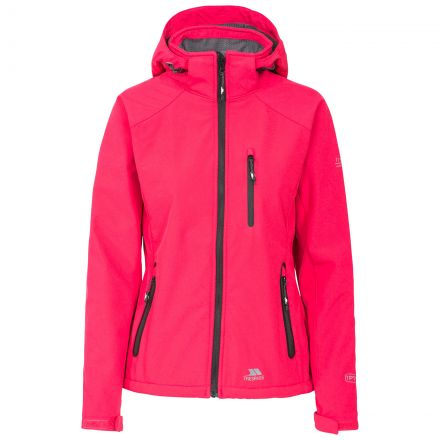 Trespass Womens Softshell Jacket Bela II Light Pink