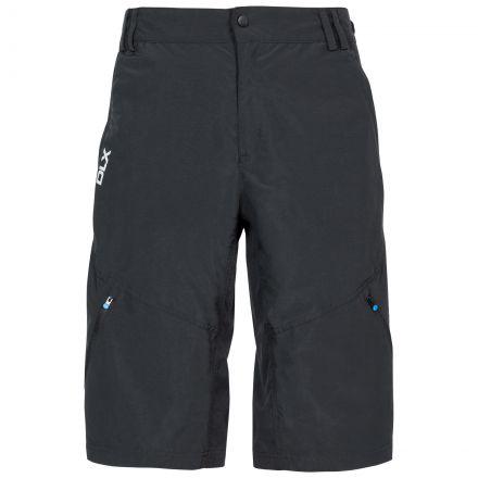 Bertram Men's DLX Quick Dry Walking Shorts in Black