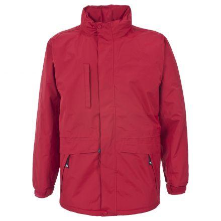 Blanca Men's Padded Waterproof Jacket in Red
