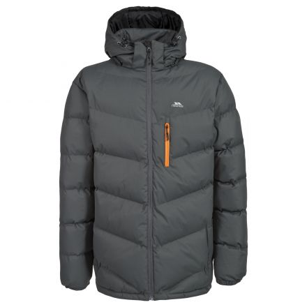 Blustery Men's Padded Casual Jacket in Grey