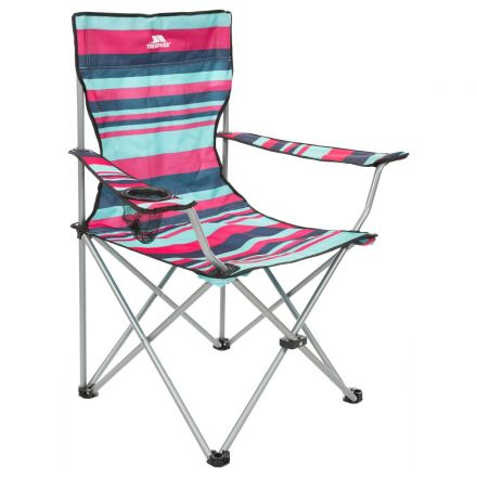 BRANSON Folding Camping Chair with Drinks Holder