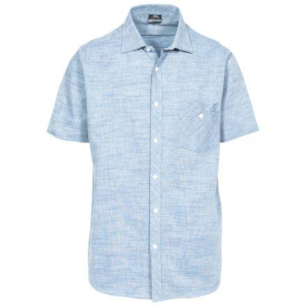Buru Men's Chambray Short Sleeve Shirt