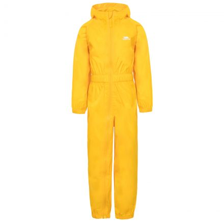 Button Kids' Rain Suit in Yellow