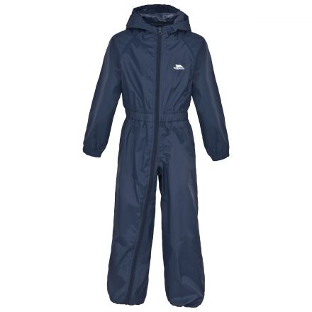 Button Unisex Kids' Waterproof Breathable Rain Suit