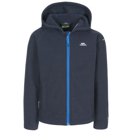 Captive Kids' Full Zip Fleece Hoodie in Navy