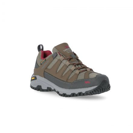 Carnegie II Women's Vibram Walking Shoes in Brown