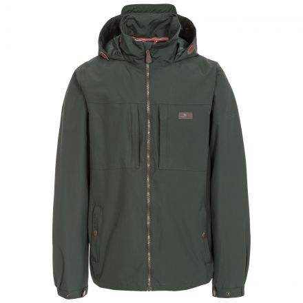 Cartwright Men's Hooded Waterproof Jacket in Khaki
