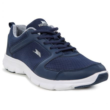 Chasing Men's Memory Foam Trainers in Navy