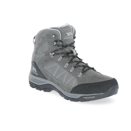 Chavez Men's Waterproof Walking Boots in Grey