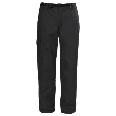 Clifton Men's Cargo Trousers in Black
