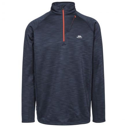 Collins Men's 1/2 Zip Fleece in Navy