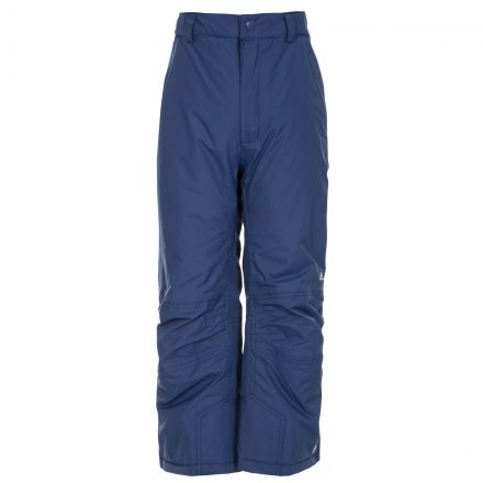 Contamines Kids' Salopettes in Navy, Front view on model