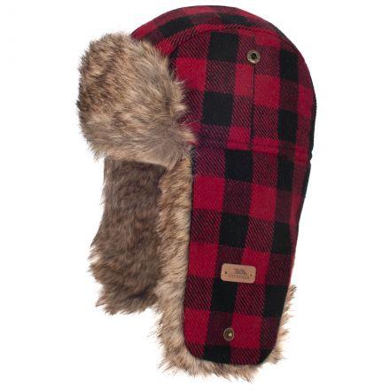 Corban Kids' Trapper Hat in Red