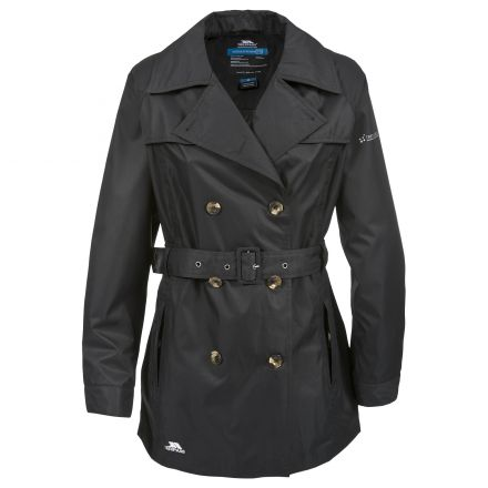 Trespass Womens Waterproof Jacket Cosmo in Black