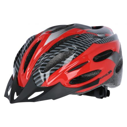 Crankster Adults Bike Helmet in Red
