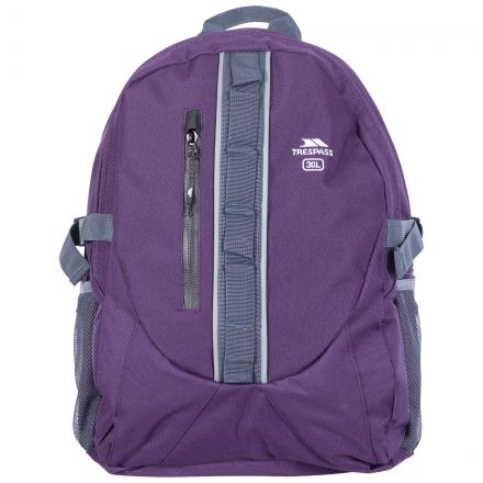 Deptron 30L Laptop Backpack in Purple