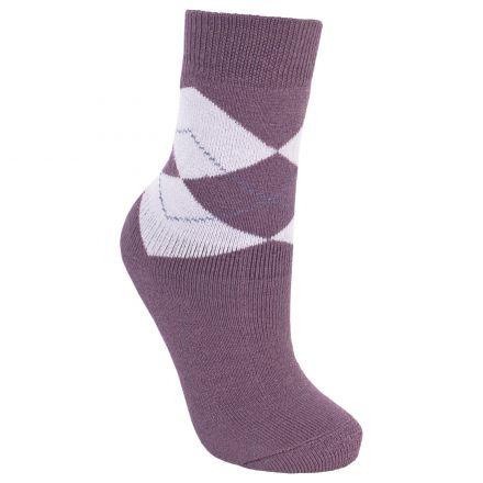 Deserve Women's Walking Socks in Light Purple