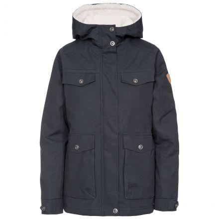 Devoted Women's Fleece Lined Waterproof Jacket in Grey