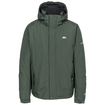 Donelly Men's Waterproof Jacket in Khaki