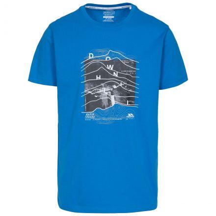 Downhill Men's Printed Casual T-Shirt