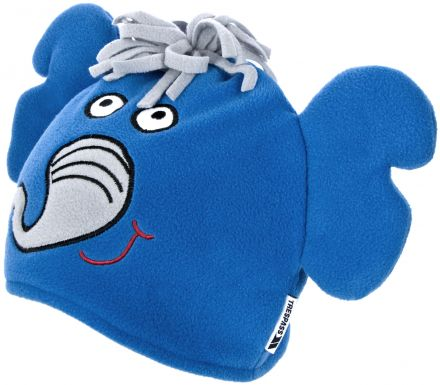 Dumpy Kids' Novelty Beanie Hat in Blue