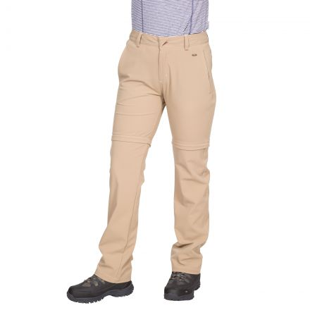 Eadie Women's Water Resistant Walking Trousers in Beige
