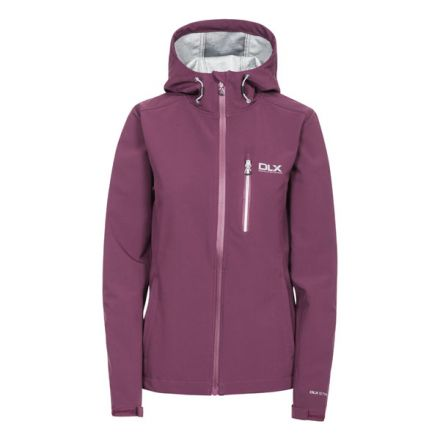 Edin Women's DLX Softshell Jacket in Burgundy