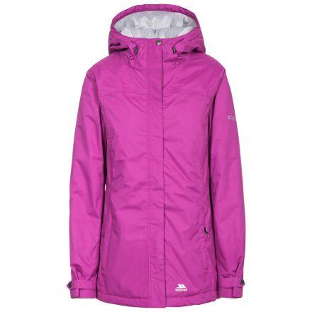 Edna Women's Padded Waterproof Jacket in Purple
