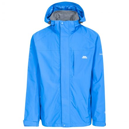 Edwards II Men's Breathable Waterproof Jacket in Blue