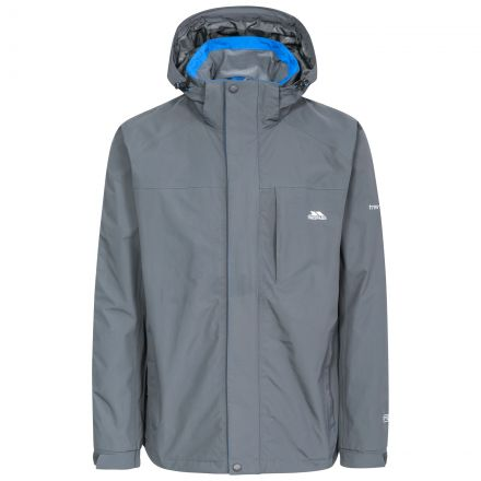 Edwards II Men's Breathable Waterproof Jacket in Grey