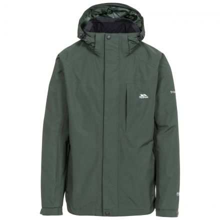 Edwards II Men's Breathable Waterproof Jacket in Khaki