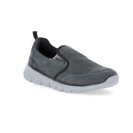 Enrico Men's Slip On Trainers in Grey