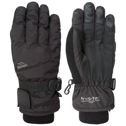 Ergon II Kids' Ski Gloves in Black