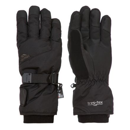 Ergon II Adults' Ski Gloves in Black