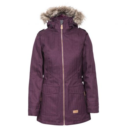 Everyday Women's Padded Waterproof Jacket in Purple