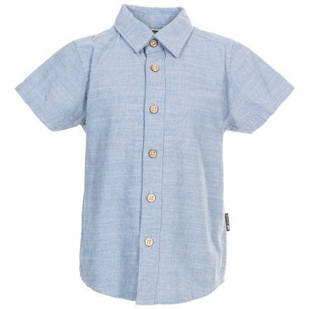 Exempt Kids' Short Sleeve Shirt in Blue